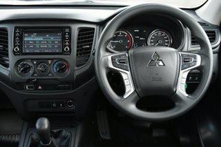 2019 Mitsubishi Triton MR MY20 GLX Double Cab ADAS White 6 Speed Manual Utility