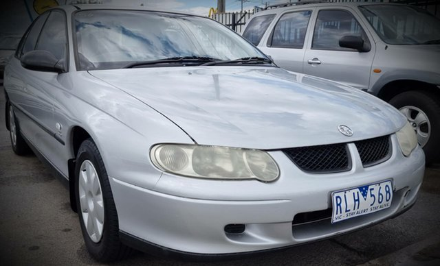Used Holden Commodore VX II Executive Cheltenham, 2002 Holden Commodore VX II Executive Silver 4 Speed Automatic Sedan