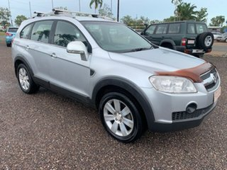 2008 Holden Captiva LX Silver 4 Speed Auto Active Select Wagon.