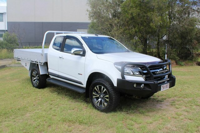 Used Holden Colorado RG MY17 LTZ Pickup Space Cab Ormeau, 2017 Holden Colorado RG MY17 LTZ Pickup Space Cab White 6 Speed Sports Automatic Utility
