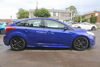 2012 Ford Focus LW MkII ST Blue 6 Speed Manual Hatchback.