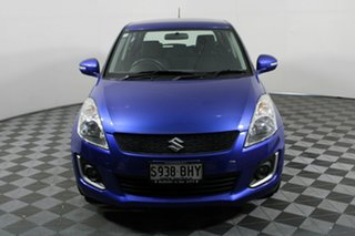 2015 Suzuki Swift FZ MY15 GL Navigator Blue 5 Speed Manual Hatchback.