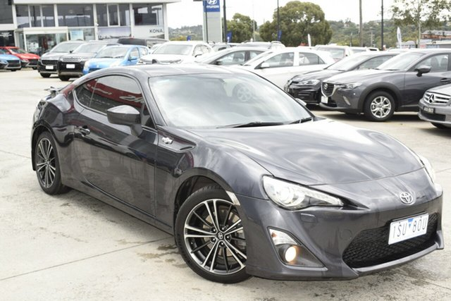 Used Toyota 86 ZN6 GTS Ferntree Gully, 2015 Toyota 86 ZN6 GTS Grey 6 Speed Sports Automatic Coupe
