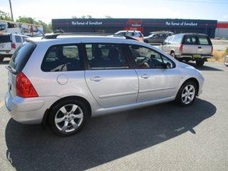 2007 Peugeot 307 MY06 Upgrade XSE HDi 2.0 Touring Silver 6 Speed Tiptronic Wagon.