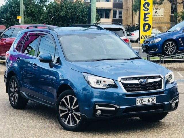 Used Subaru Forester S4 MY16 2.5i-S CVT AWD Liverpool, 2016 Subaru Forester S4 MY16 2.5i-S CVT AWD Blue 6 Speed Constant Variable Wagon