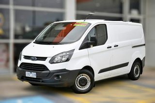 2016 Ford Transit Custom VN 290S Low Roof SWB White 6 Speed Manual Van.