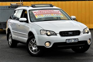 2006 Subaru Outback B4A MY06 Safety Pack AWD White 4 Speed Sports Automatic Wagon.