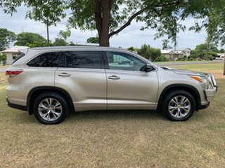 2014 Toyota Kluger GSU55R GXL AWD Champagne Pearl 6 Speed Sports Automatic Wagon.