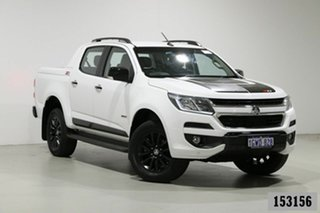 2018 Holden Colorado RG MY18 Z71 (4x4) White 6 Speed Manual Crew Cab Pickup.