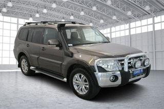 2013 Mitsubishi Pajero NW MY13 VR-X Brown 5 Speed Sports Automatic Wagon.