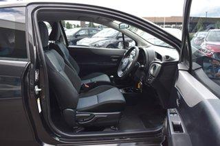 2011 Toyota Yaris NCP131R ZR Black 5 Speed Manual Hatchback