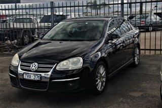 2006 Volkswagen Jetta 1KM MY07 Turbo DSG Black 6 Speed Sports Automatic Dual Clutch Sedan