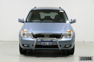 2011 Kia Grand Carnival VQ MY11 Platinum Blue 6 Speed Automatic Wagon.