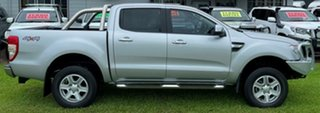 2014 Ford Ranger PX XLT Super Cab Silver 6 Speed Sports Automatic Utility.