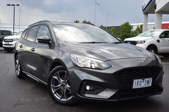 Used Ford Focus SA 2020.25MY ST-Line Essendon Fields, 2020 Ford Focus SA 2020.25MY ST-Line Magnetic 8 Speed Automatic Wagon
