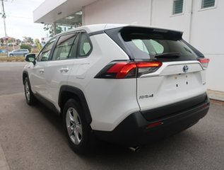 2019 Toyota RAV4 Axah52R GX 2WD White 6 Speed Constant Variable Wagon Hybrid