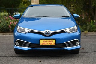 2017 Toyota Corolla ZWE186R Hybrid E-CVT Blue 1 Speed Constant Variable Hatchback Hybrid.