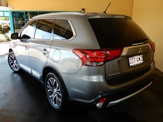 2016 Mitsubishi Outlander ZK MY16 LS (4x4) Grey Continuous Variable Wagon.