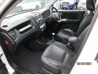 2007 Kia Sportage KM EX-L (Limited) (4x4) White 6 Speed Manual Wagon