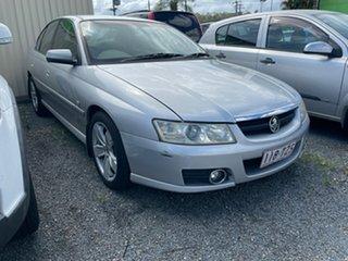 2004 Holden Commodore Silver Sedan.