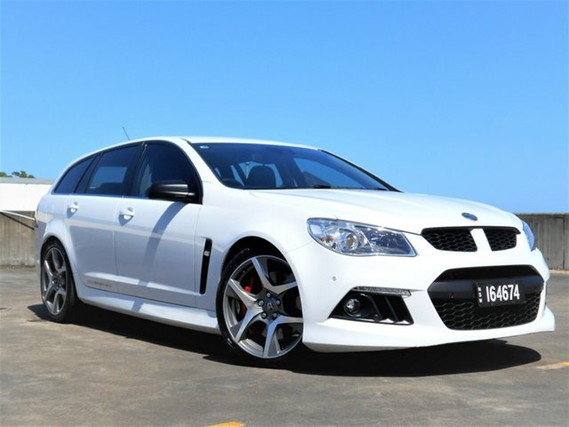 Used Holden Special Vehicles ClubSport Gen-F MY15 R8 Tourer Brookvale, 2015 Holden Special Vehicles ClubSport Gen-F MY15 R8 Tourer White 6 Speed Sports Automatic Wagon