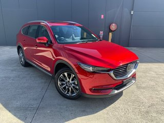 2020 Mazda CX-8 KG4W2A Asaki SKYACTIV-Drive i-ACTIV AWD Soul Red Crystal 6 Speed Sports Automatic.