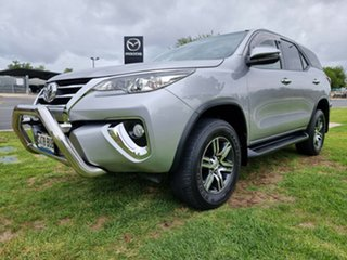 2018 Toyota Fortuner GUN156R GXL Silver 6 Speed Automatic Wagon