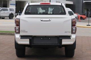 2020 Isuzu D-MAX RG MY21 LS-U Crew Cab Mineral White 6 Speed Manual Utility