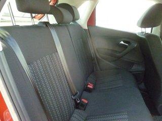 2015 Volkswagen Polo 6R MY16 66TSI DSG Trendline Red 7 Speed Sports Automatic Dual Clutch Hatchback
