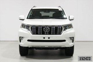 2019 Toyota Landcruiser Prado GDJ150R MY18 VX (4x4) White 6 Speed Automatic Wagon.