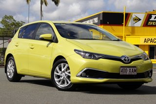 2016 Toyota Corolla ZRE182R Ascent Sport S-CVT Citrus 7 Speed Constant Variable Hatchback.