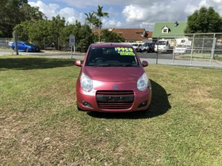 2013 Suzuki Alto GF GL Pink 5 Speed Manual Hatchback.
