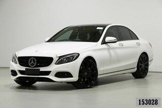 2014 Mercedes-Benz C250 205 BlueTEC Polar White 7 Speed Automatic Sedan.