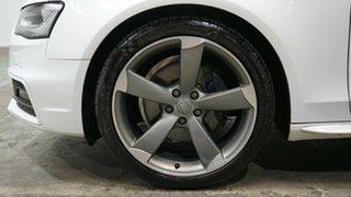 2014 Audi A4 B8 8K MY14 S Line S Tronic Quattro White 7 Speed Sports Automatic Dual Clutch Sedan