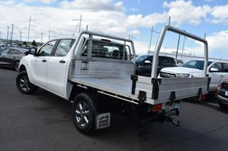 2016 Mazda BT-50 UR0YG1 XT 4x2 Hi-Rider White 6 Speed Manual Utility