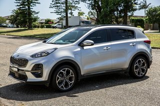 2018 Kia Sportage QL MY18 GT-Line AWD Sparkling Silver 6 Speed Sports Automatic Wagon