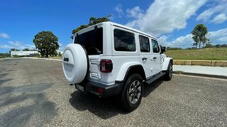 2020 Jeep Wrangler JL MY21 Unlimited Overland Bright White 8 Speed Automatic Hardtop
