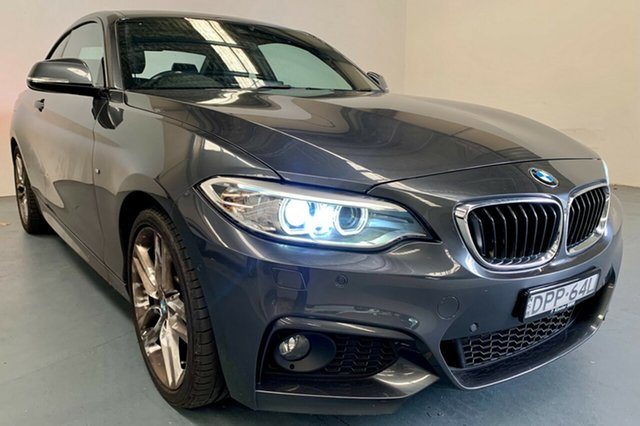 Used BMW 2 Series F22 230i M Sport Newcastle West, 2017 BMW 2 Series F22 230i M Sport Mineral Grey 8 Speed Sports Automatic Coupe