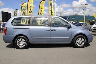 2013 Kia Grand Carnival VQ MY13 S Crystal Blue 6 Speed Sports Automatic Wagon