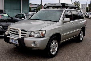2007 Toyota Kluger GSU45R Grande AWD Silver 5 Speed Sports Automatic Wagon
