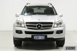 2007 Mercedes-Benz GL320 CDI 164 320 CDI Silver 7 Speed Automatic G-Tronic Wagon.