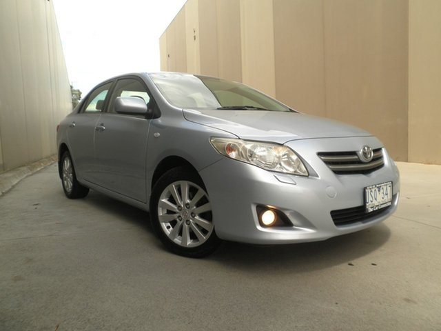 Used Toyota Corolla ZRE152R Ultima Cheltenham, 2007 Toyota Corolla ZRE152R Ultima Light Blue Metallic 4 Speed Automatic Sedan