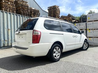 2007 Kia Grand Carnival VQ EX White 5 Speed Sports Automatic Wagon.