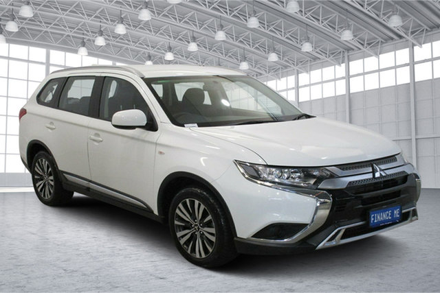 Used Mitsubishi Outlander ZL MY19 ES AWD Victoria Park, 2018 Mitsubishi Outlander ZL MY19 ES AWD White 6 Speed Constant Variable Wagon