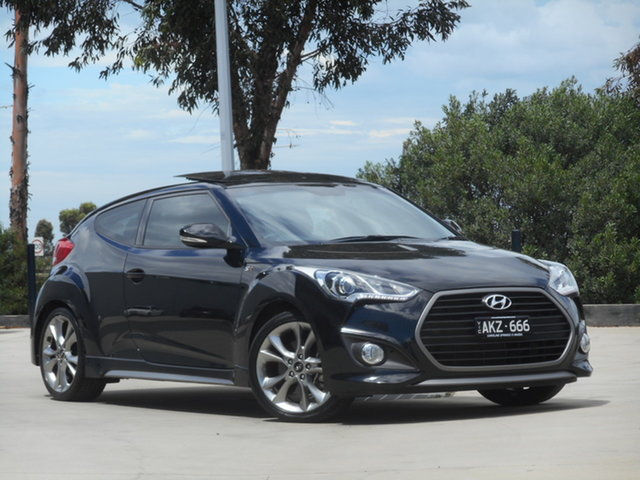 Used Hyundai Veloster FS4 Series II SR Coupe Turbo Ravenhall, 2016 Hyundai Veloster FS4 Series II SR Coupe Turbo 6 Speed Manual Hatchback