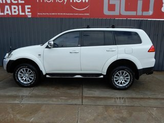 2011 Mitsubishi Challenger PB (KH) MY12 30th Anniversary White 5 Speed Manual Wagon