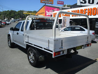 2009 Holden Colorado RC MY09 LX (4x4) Silver 4 Speed Automatic Crew Cab Pickup.