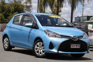 2016 Toyota Yaris NCP130R Ascent Blue 4 Speed Automatic Hatchback.