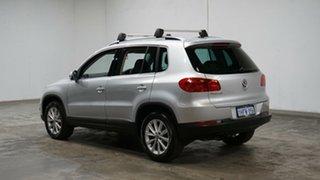 2015 Volkswagen Tiguan 5N MY15 132TSI DSG 4MOTION Silver 7 Speed Sports Automatic Dual Clutch Wagon.