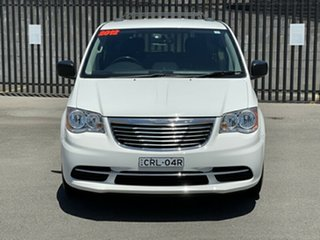 2012 Chrysler Grand Voyager RT 5th Gen MY12 LX White 6 Speed Automatic Wagon.